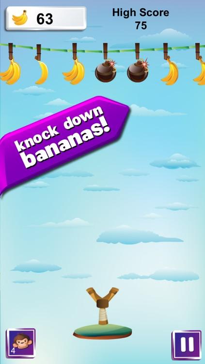 Go Bananas Pro - Sling Shot Money Fun Game