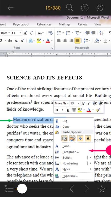Master in 24h for Microsoft Word 2010 screenshot-3