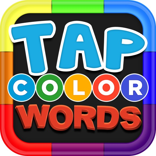 Tap Color Words