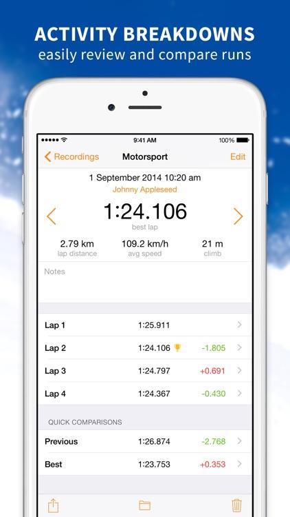 Splits Trainer – GPS Multi–Sport Trainer screenshot-3