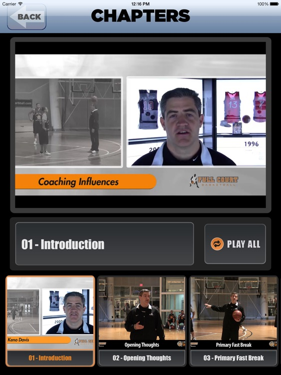 Aggressive Offensive Sets: A Playbook For A High Scoring Offense - With Coach Keno Davis - Full Court Basketball Training Instruction - XL screenshot-1