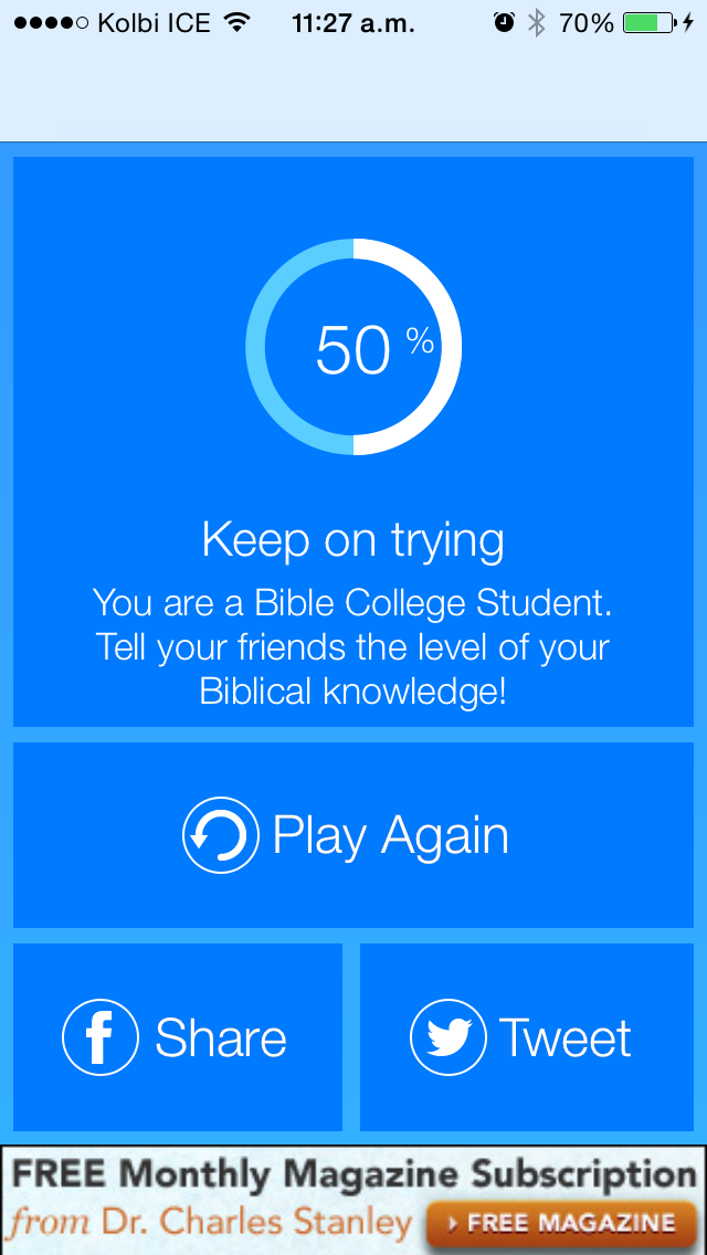 download Free Bible Trivia Quiz Game apps 0