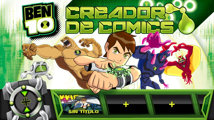 Ben 10: Creador de Comics screenshot-0
