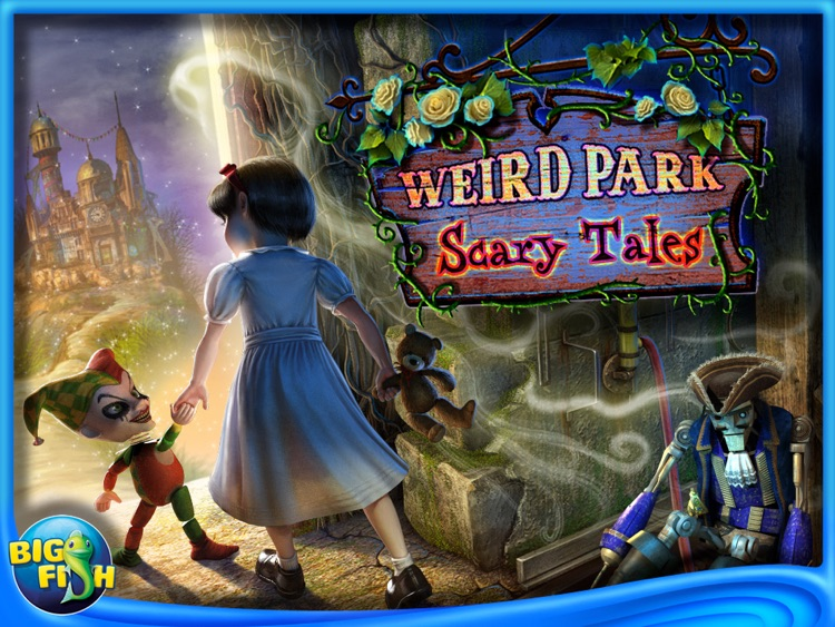 Weird Park: Scary Tales HD - A Hidden Object Adventure screenshot-4