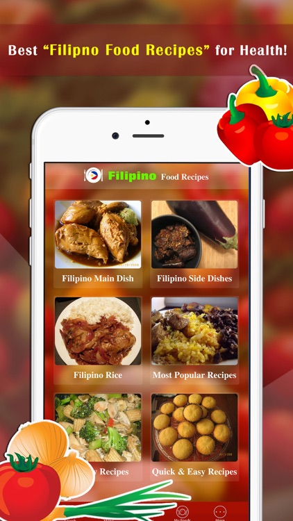 Filipino Food Recipes screenshot-0