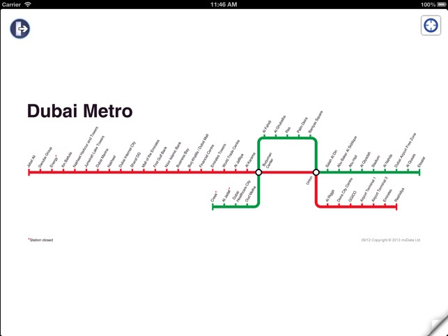 Dubai Metro by mxData on the App Store