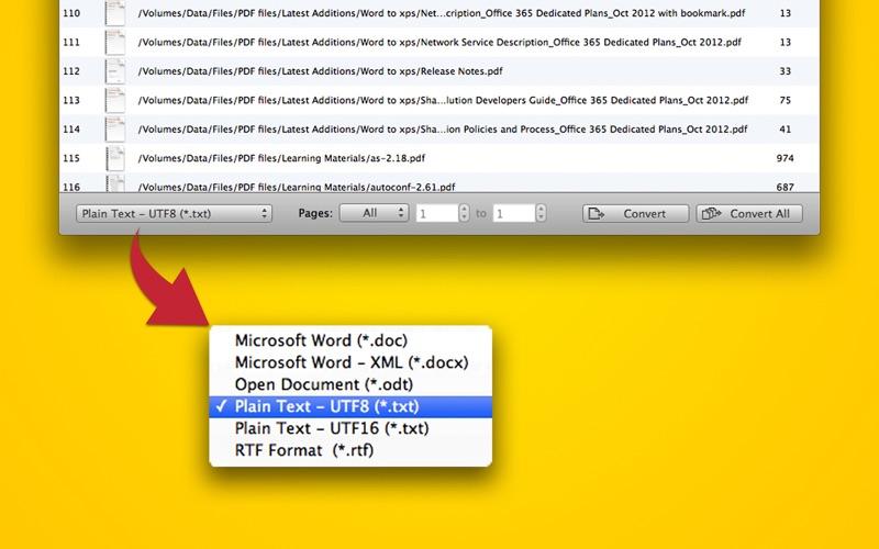 PDF to Text Screenshot
