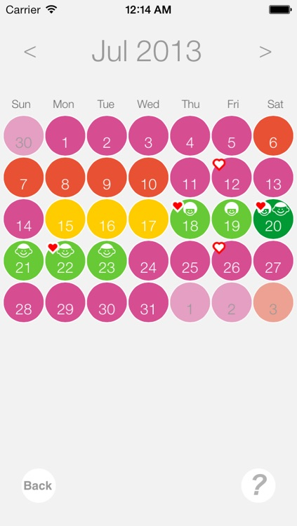 Ovulation and Pregnancy Calendar Pro (Fertility Calculator, Gender Predictor, Period Tracker) screenshot-3