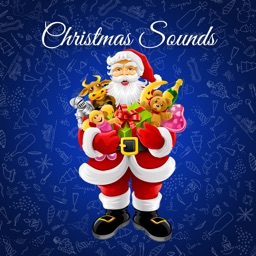 Christmas Holiday Santa Sound Shelf