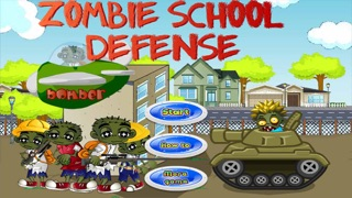 Zombie School Defense