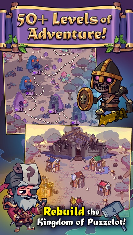 Knights of Puzzelot screenshot-3