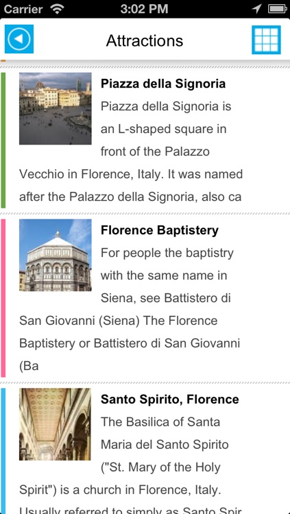 Florence (Italy) offline map, guide & hotels screenshot-2
