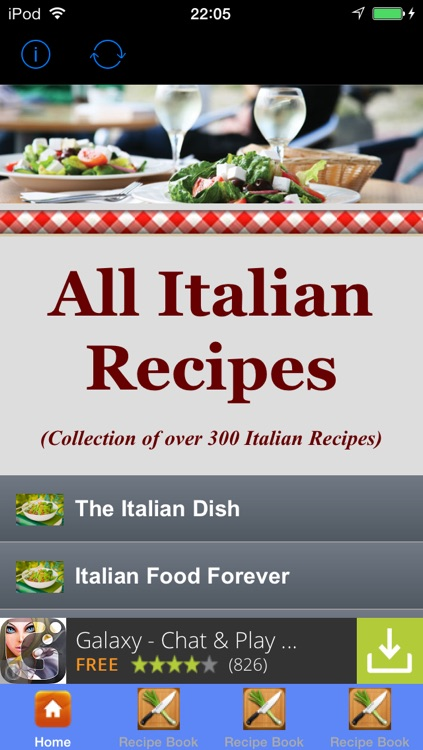 All Italian Recipes - Ultimate Italian Cook Book screenshot-0