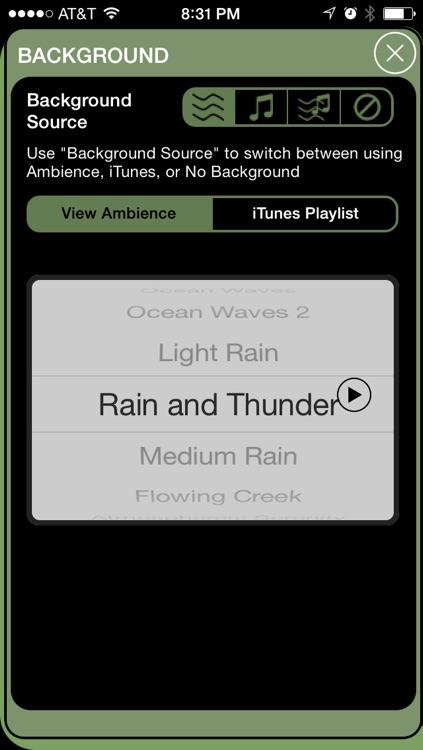 Brain Wave Zen Meditation - 3 Meditative Binaural Brainwave Entrainment Programs screenshot-4