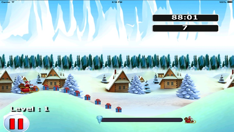 Santa Claus Jump Lite - The race for the kids gifts before Xmas – Free Version