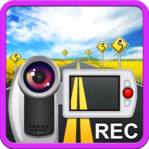Car Camera DVR - Car Video Recorder. Dashboard GPS Black Box