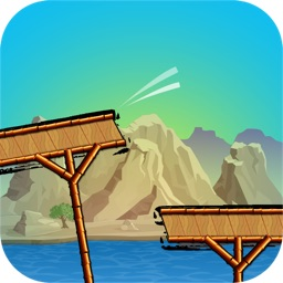 Cross the Bridge - Extreme Bike Riding Survival Arcade (Long Mountain Trail Gear)