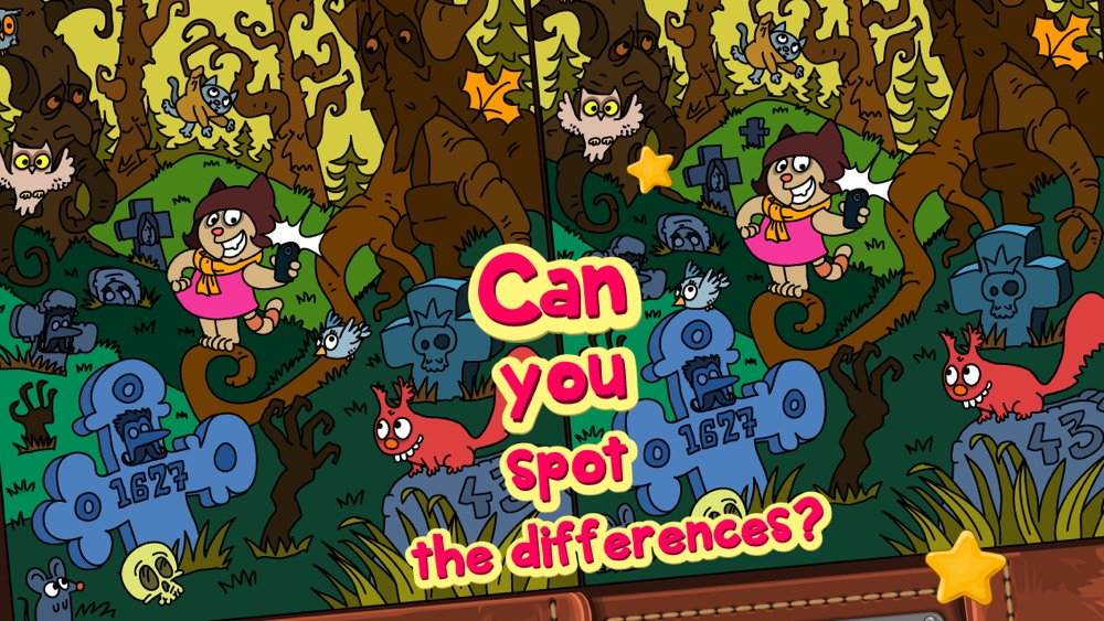 Meow Quest Spot the Difference