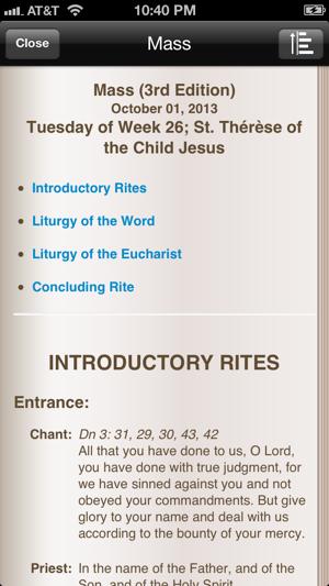 imissal catholic (mass reading, calendar, lectionary) on the app store