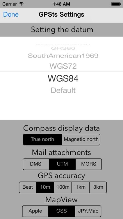 GPSts screenshot-4