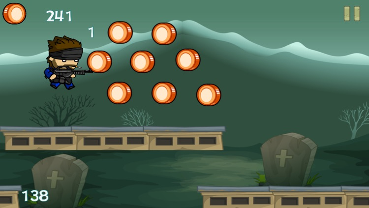 Soldier Boys in Zombie-Land – Deadly Zombies Horror Shooting Game on the Graveyard screenshot-3