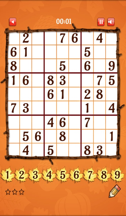 Fall Sudoku by 24/7 Games LLC
