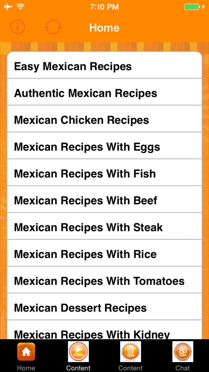 Easy Mexican Recipes screenshot-1