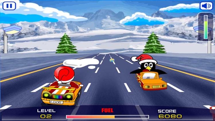 Santa Rush - Car Racing Adventure screenshot-4
