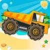 トラックの冒険:危険の道に贈り物を届ける。モンスタートラックを運転する方法。車、トラック、トラクターについては、こちらをご覧ください。大人と子供のためのゲーム:無償、新 - iPhoneアプリ
