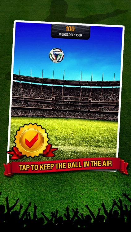 Kick Star Soccer - Keepy uppy challenge for finger football fans screenshot-1