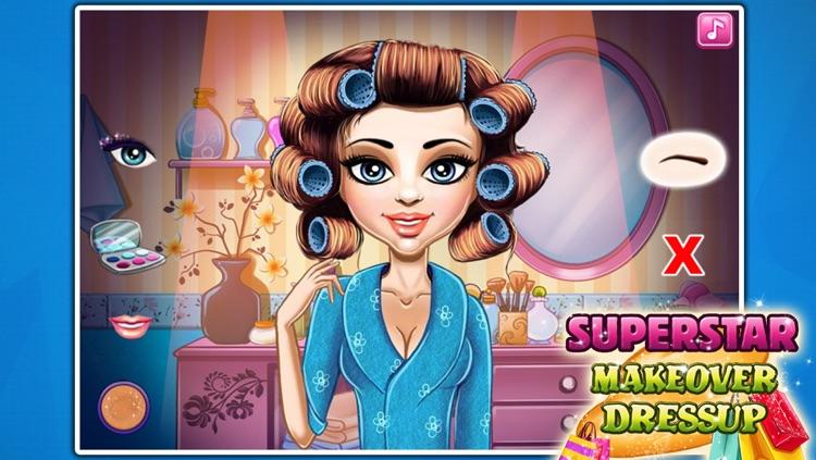 Superstar Makeover&Dressup screenshot-3