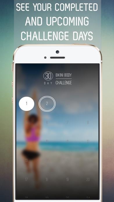 30 Day Bikini Body Workout Challenge for Full Body Tone Screenshot 2