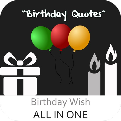 Birthday Quotes - Create Wallpaper of Birthday Wishes