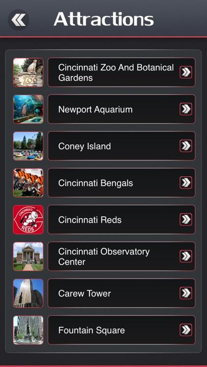 Cincinnati City Offline Travel Guide