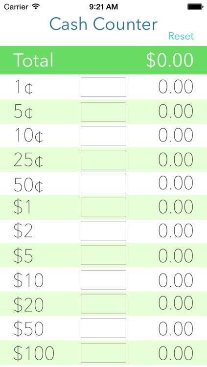 Cash Counter Lite