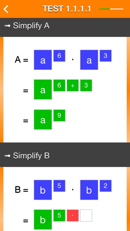 Exponentiation screenshot-3
