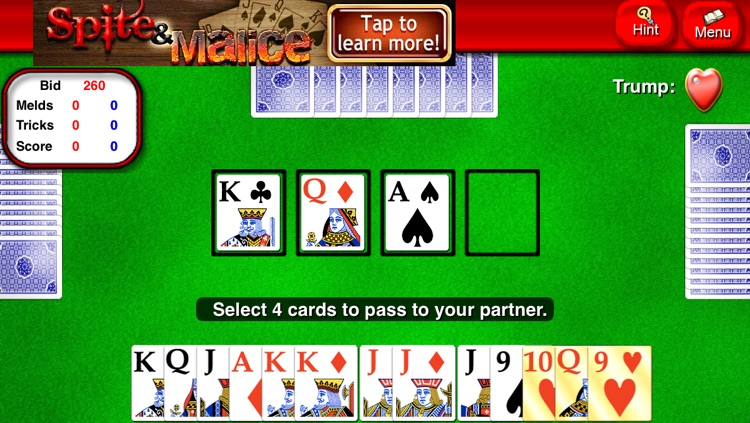 Pinochle Lite screenshot-1