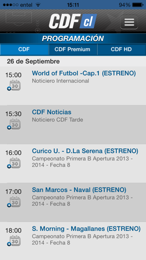 ‎CDF Chile Screenshot