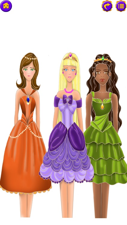 Dress Up Princess : My Fairy Tale Fashion Salon - FREE Dressup and Makeup Game! screenshot-4