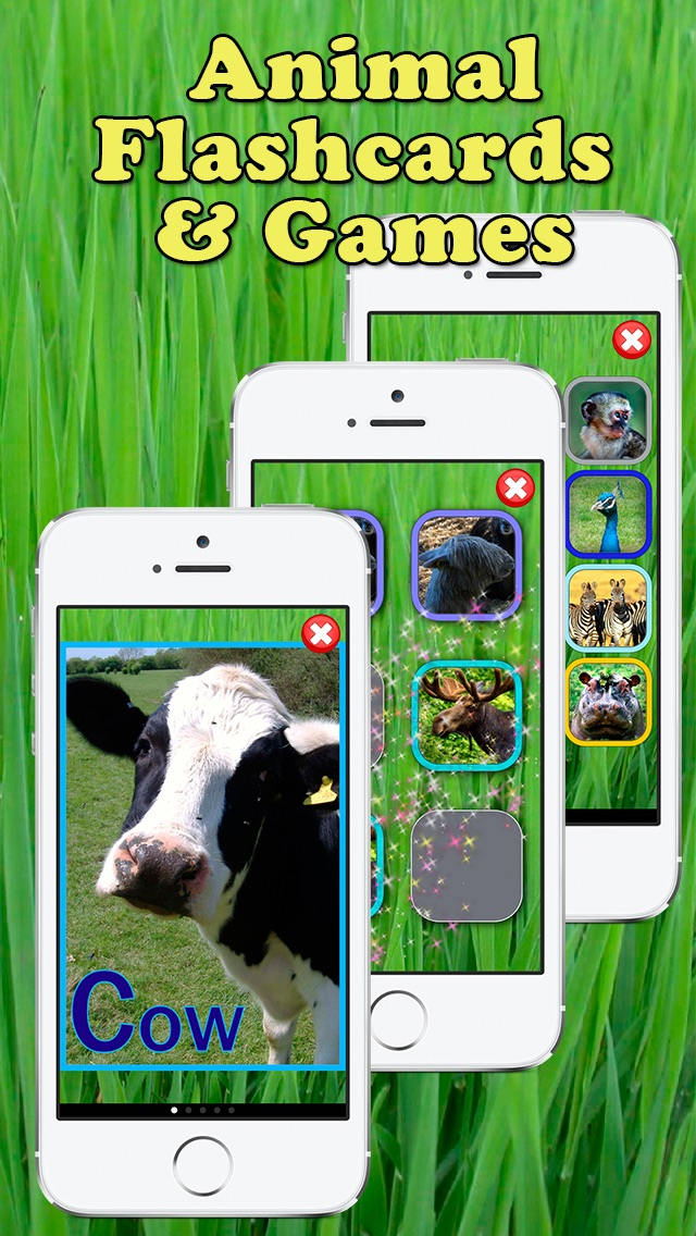 Play and Learn Animals - Free Baby Flashcard Game screenshot