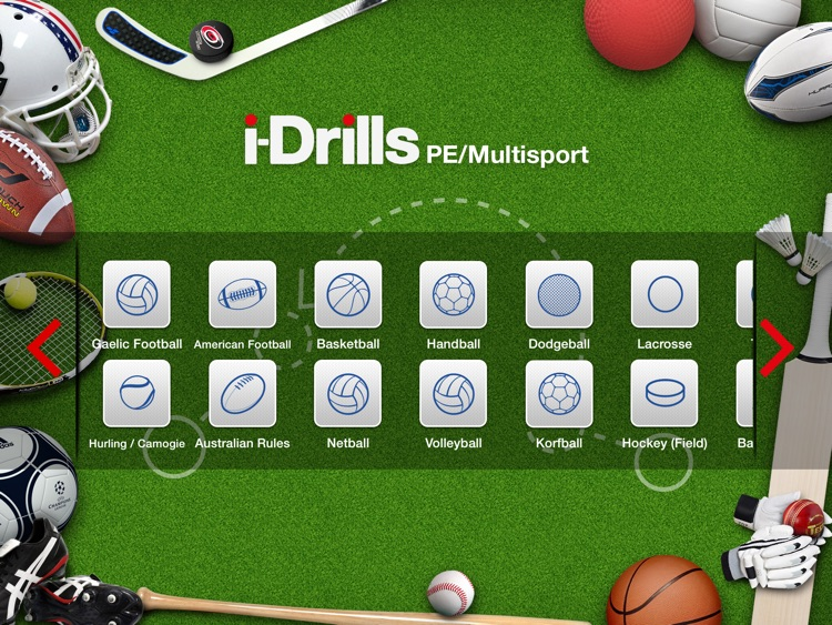 i-Drills PE & Multi Sport Coachs App screenshot-0
