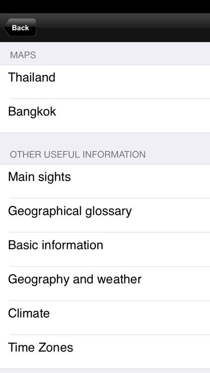 Thailand. Road map screenshot-3