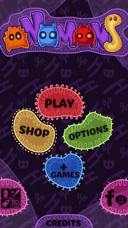 oNomons - Free Match 3 Puzzle Game screenshot-3