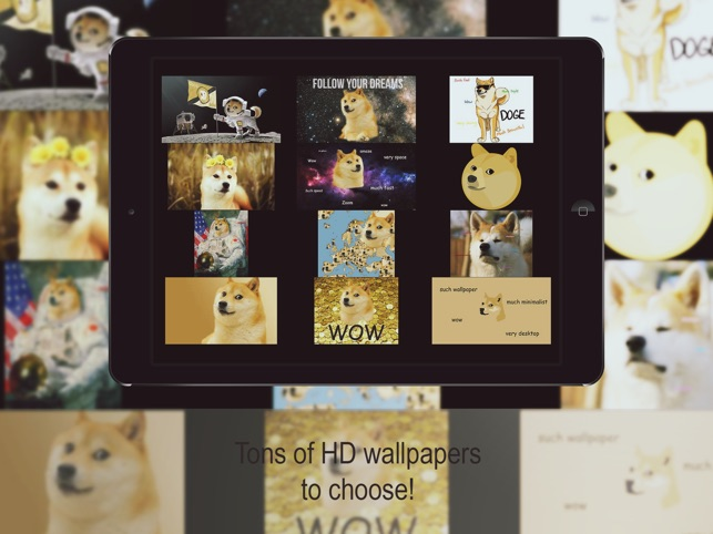 Doge HD Wallpapers Free On The App Store