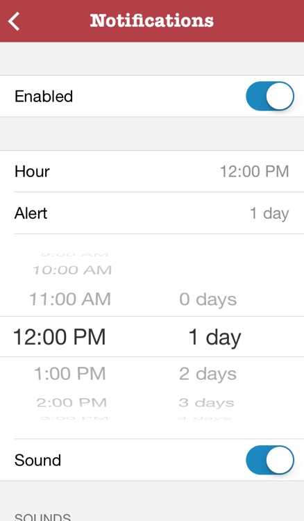 Events - birthdays & holidays organizer screenshot-3