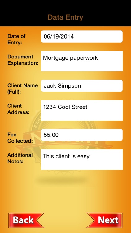 Electronic Notary Journal screenshot-1