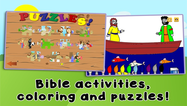 The Amazing Miracles of Jesus: Learn about God with Children's Bible Stories, Games, Songs, and Narration by Joni of Joni and Friends! screenshot-3