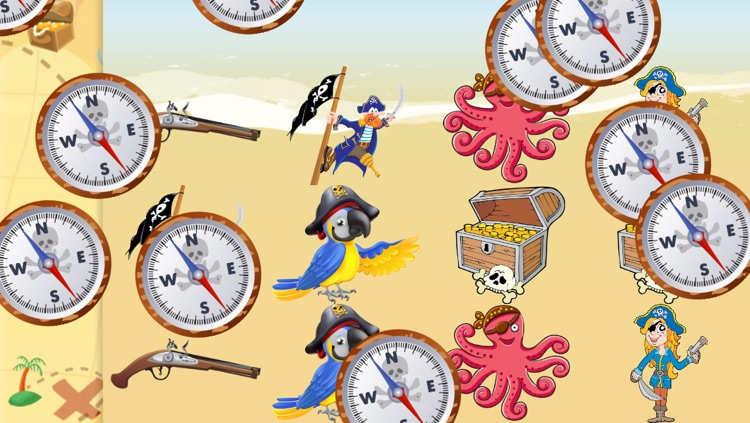 Pirates Games for Kids and Toddlers : discover the world of pirates ! screenshot-4