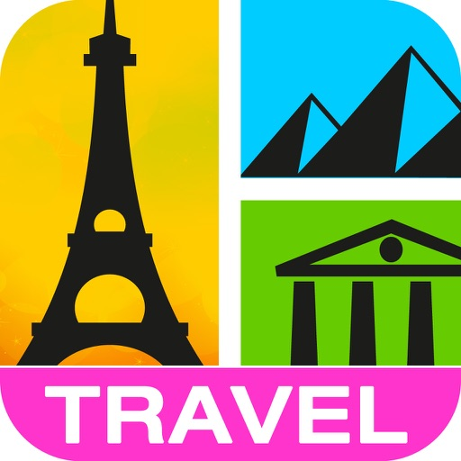 Guess It! Pic Travel – Free Trivia Word Scramble Quiz Game. Have fun guessing what's the landmark, attractions or icon photo but don't give up, solve words with family and friends help! Icon