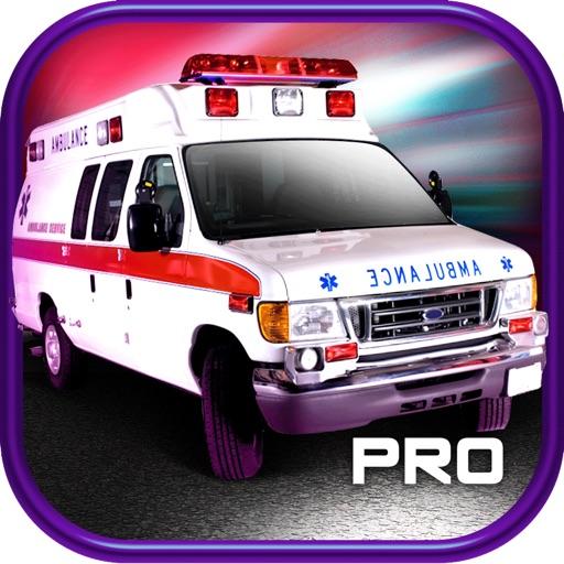 3D Ambulance Driving Race Car Game PRO